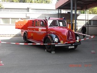 Histroisches Löschfahrzeug